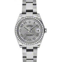 롤렉스 (Rolex) Datejust Ladies Midsize 178384-SLVCAO Silver...