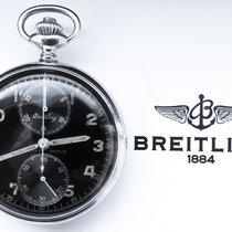Breitling A. Lünser Berlin Military 2.WW Pocketwatch Chronograph