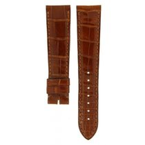 Cartier Shiny Brown Crocodile Leather Strap 18mm/16mm