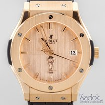 Hublot Classic Fusion 18k Gold Limited Edition FIFA World Cup...