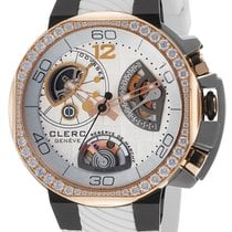 Clerc Odyssey  Red Gold and Titanium P. Reserve 5 Days Swiss