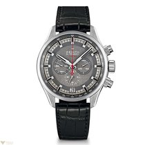 Zenith El Primero Sport Grey Dial 45mm Watch with Alligator...