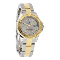 롤렉스 (Rolex) stainless steel and 18k yellow gold ladies...