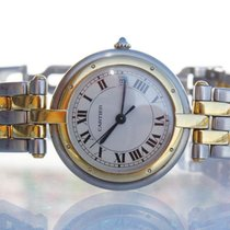 Cartier Panthere Ronde, in steel and 18 kt gold. Unisex