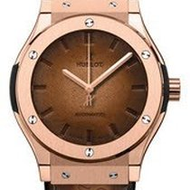 Hublot 511.OX.0500.VR.BER16 Classic Fusion 45mm in Rose Gold -...