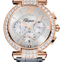 Chopard Imperiale Chrono 18K Rose Gold, Amethysts &...