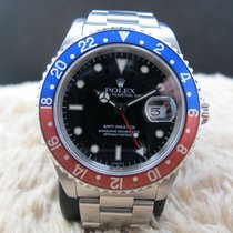 Rolex 1991 ROLEX GMT MASTER 16700 PEPSI RED/BLUE BEZEL