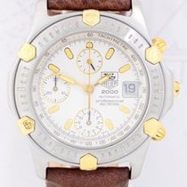 TAG Heuer Automatic 2000 Chronograph Date Taucher Stahl Gold...
