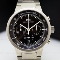 IWC 372702 372702 GST Chronograph Quartz Black Dial Titanium...