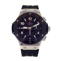 Hublot Big Bang 44mm Stainless Ceramic Automatic Chrono Watch