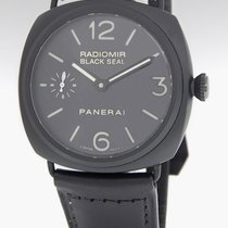 Panerai Radiomir Black Seal Pam 292 Steel Ceramic Mens Watch...