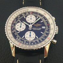 Breitling Old Navitimer II chronograph stainless steel