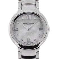 Baume & Mercier Promesse Guilloche 30 Ladies Diamonds