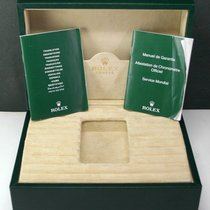 Rolex Used ROLEX Watch Box Case with Warranty Manual