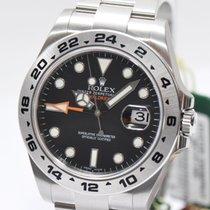롤렉스 (Rolex) Explorer II Stahl  2014 LC 100 Papiere NEU OVP