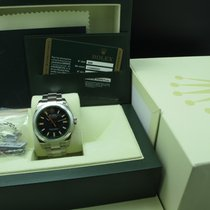 Rolex MILGAUSS 116400GV Green Glass Full Set