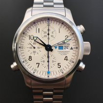 Fortis B 42 Flieger Chronograph Automatic Alarm