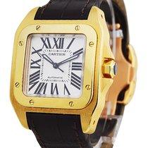 Cartier santos_100_small_size Santos 100 - Mid Size - Yellow...