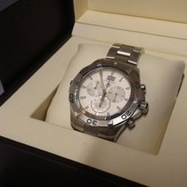 TAG Heuer Aquaracer 43mm Grand Date Chronograph Stainless...