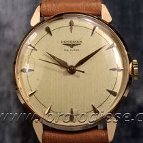 Longines Original 1957 Millerighe Dial 18kt. Pink Gold Watch...