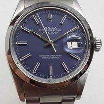 Rolex Datejust model 16000 chronometer with rare blue dial 1981