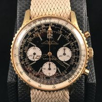 Breitling Navitimer 806 Aopa Dial Gold Plated Case