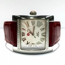 Michele Diamond Ladies/unisex Watch W/ 62 Diamonds Red...