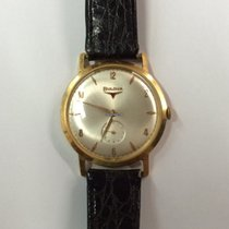 Bulova Oro 18kt Gold manual manuale 36mm vintage CAL 11 AC