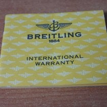 Breitling vintage bentley chronograph Warranty Certificate Papers
