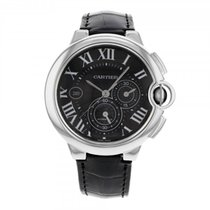 까르띠에 (Cartier) Ballon Bleu Chronograph 44mm XL Stainless Steel...
