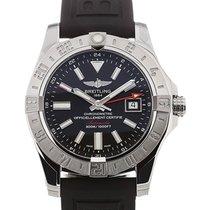Breitling Avenger II 43 GMT Black Dial