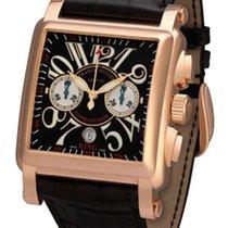 Franck Muller Conquistador Cortez 18K Rose Gold Men's Watch