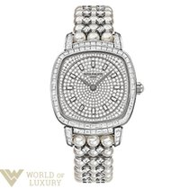 Patek Philippe Gongolo White Gold and Diamonds Ladies Watch