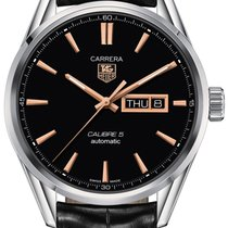 TAG Heuer CARRERA Calibre 5 Day-Date Automatikuhr - ∅41 mm