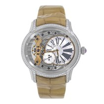 Audemars Piguet Millenary Lady Hand-Wound White Gold MOP Dial