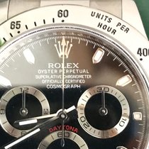 Rolex Daytona  116520 Black, Light Blue, Random Serial