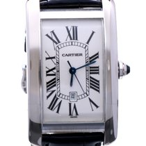Cartier Tank Americaine XL White Gold 45 x 26 mm (Full Set)