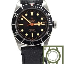 Tudor Heritage Black Bay black leather 79220 NEW