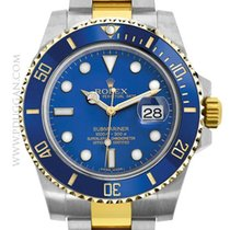 勞力士 (Rolex) stainless steel and 18k yellow gold Submariner