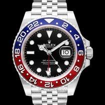 Rolex GMT-Master II Black Steel 40mm - 126710blro