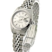 Rolex Used 79174_used_silver_stick Ladys Steel Datejust with...