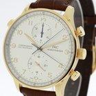 IWC Portuguese Chronograph Rattrapante 18K Rose Gold Ref. 3712...