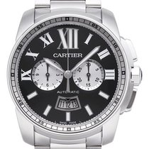 Cartier Calibre de Cartier Chronograph Edelstahl Ref. W7100061