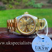 Rolex Datejust Ladies 18ct Gold President – New Model – 179178