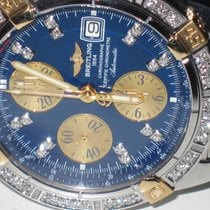 Breitling Chronomat Evolution 18K Gold Diamonds