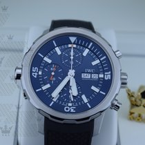 IWC IW376805  Aquatimer Chronograph Blue Dial
