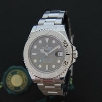 Rolex Yacht-master 37MM Rhodium NEW