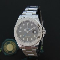 롤렉스 (Rolex) Yacht-master 37MM Rhodium Newest Model