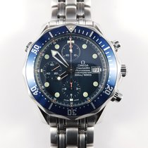 Omega Seamaster 41mm Chronograph Diver blue Full Set 2599.80.00