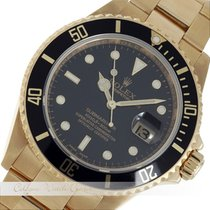 Rolex Submariner Rehaut Gelbgold 16618